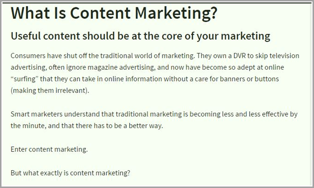 what is content marketing for evergreen content