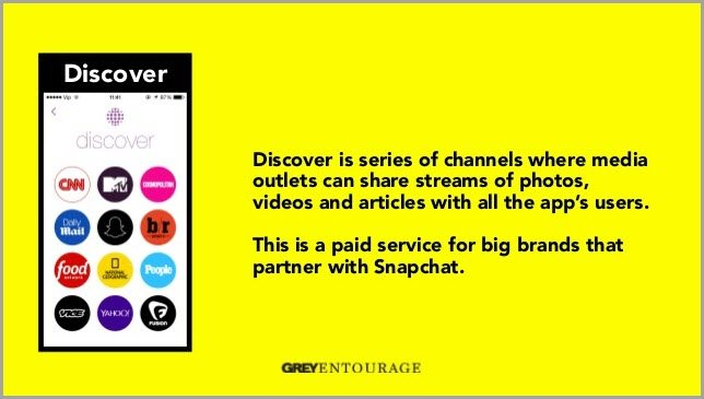 Discover for target customer