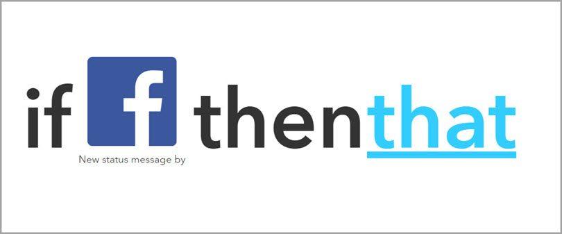 IFTT-facebooktrigger