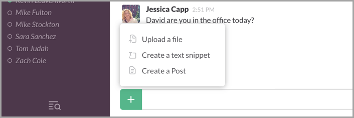 Slack-filesharing
