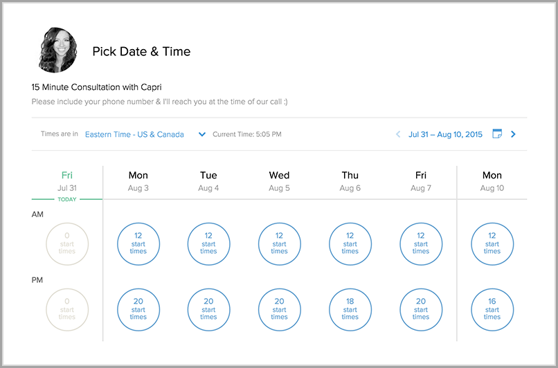 calendly for inbox productivity