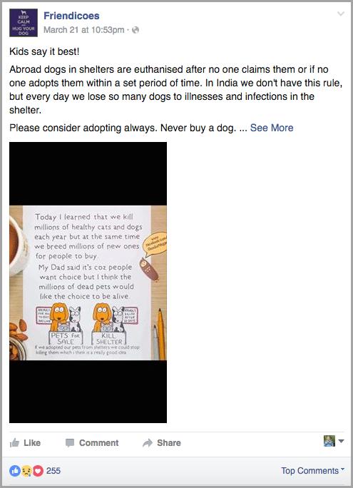 evoke the right feelings for facebook reactions