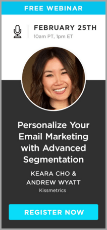 kissmetrics free webinar for lead magnet ideas