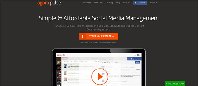 AgoraPulse for social media contest