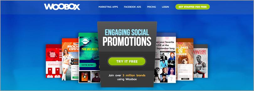 Social media contest apps