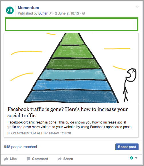 write an irresistible description for Facebook sponsored posts