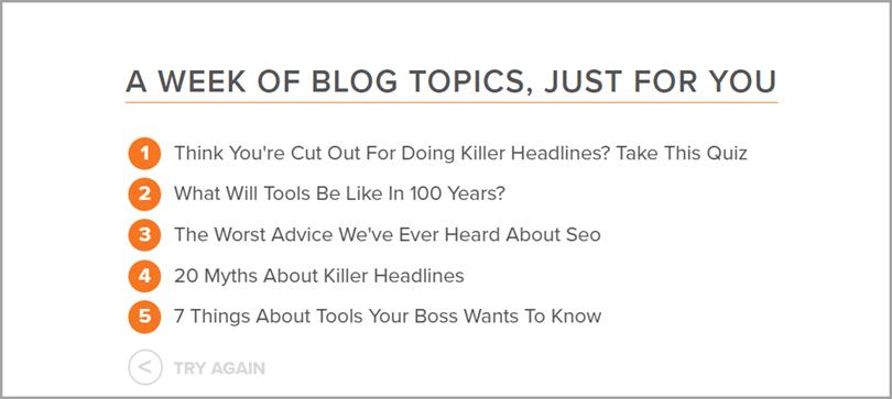 Hubspot Blog Topic Generator for SEO tools