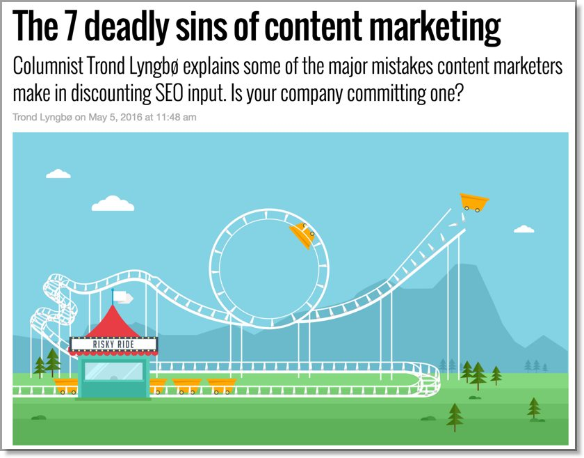 Search engine land the 7 deadly sins of content marketing