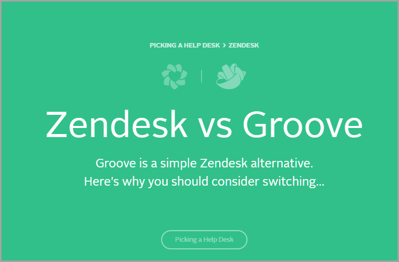 Zendesk vs. Groove for SEO on your blog