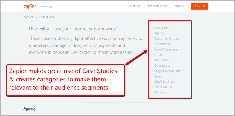 case study for ecommerce content marketing