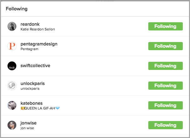 list of instagram followers for Instagram influencer marketing