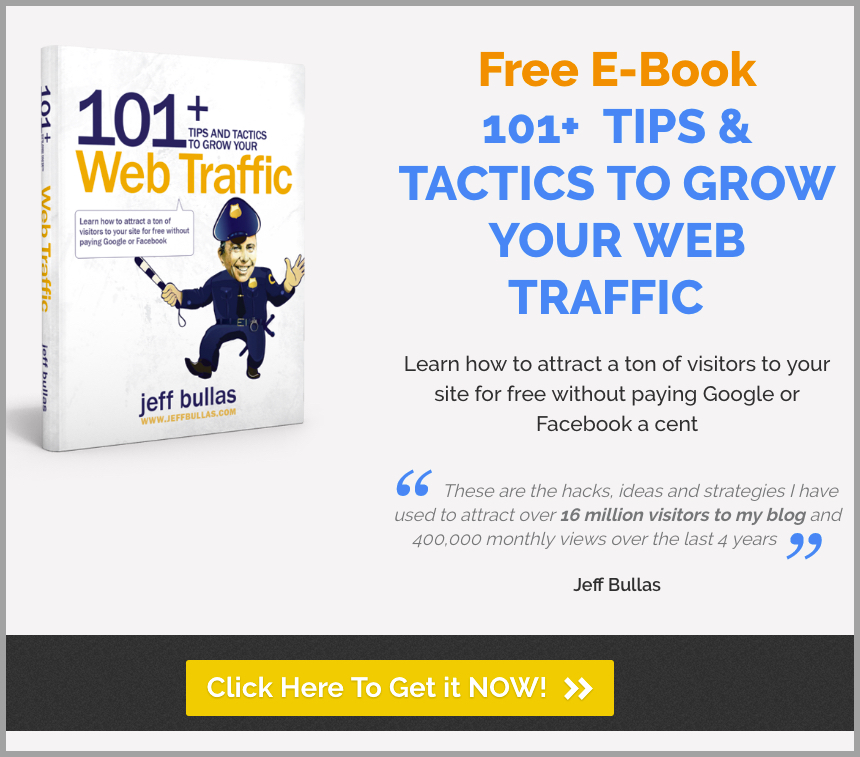 101 tips and tactics to grow your web traffic