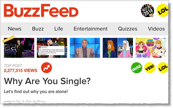 Quizzes Buzzfeed