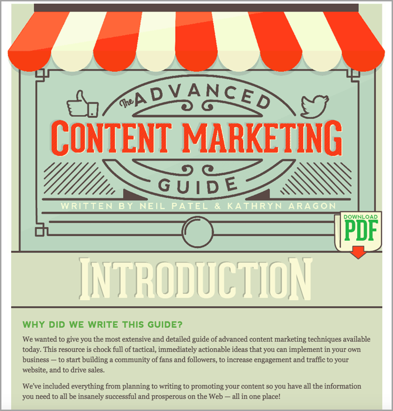 advanced content marketing guide for drive more traffic