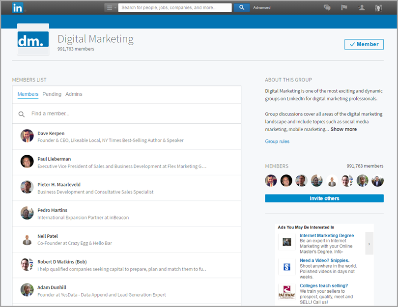 group members are now vetted for changes to Linkedin groups