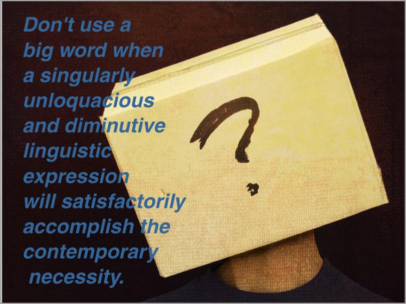 overcomplicating everything you write for SEO copywriting