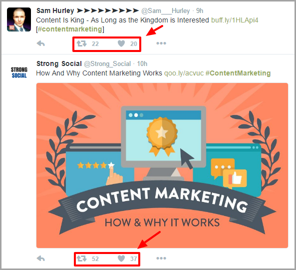 visual content for sharing for maximize social media shares
