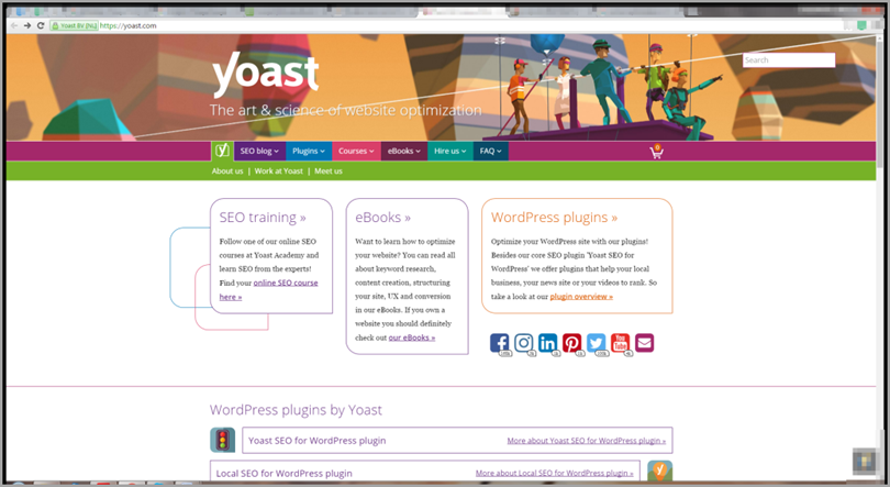Yoast for content marketing tools