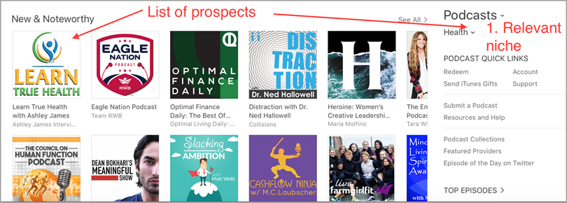 new and noteworthy for podcasting