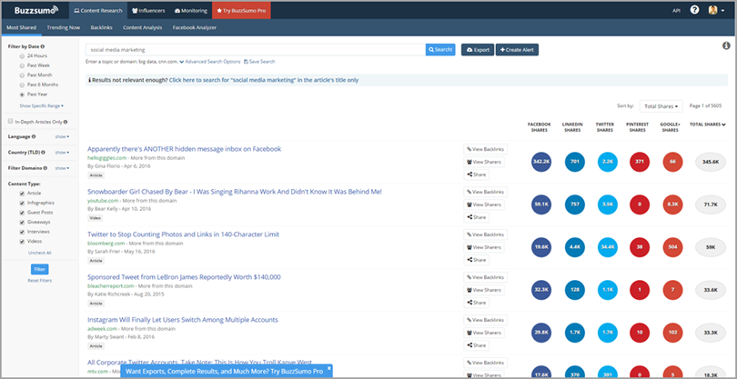 social-media-marketing-search-in-buzzsumo-for-social-media-scheduling