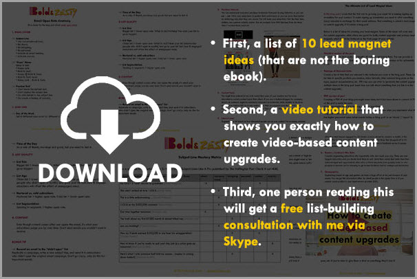3 Ways You Can Use Video to Grow Your Email List Fast - Jeffbullas's