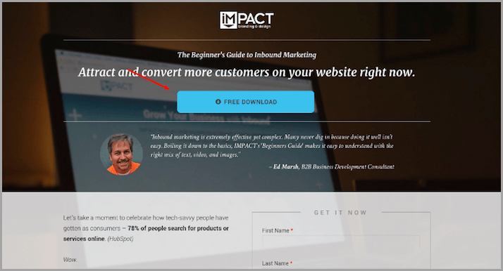 impact for improve your conversion rate