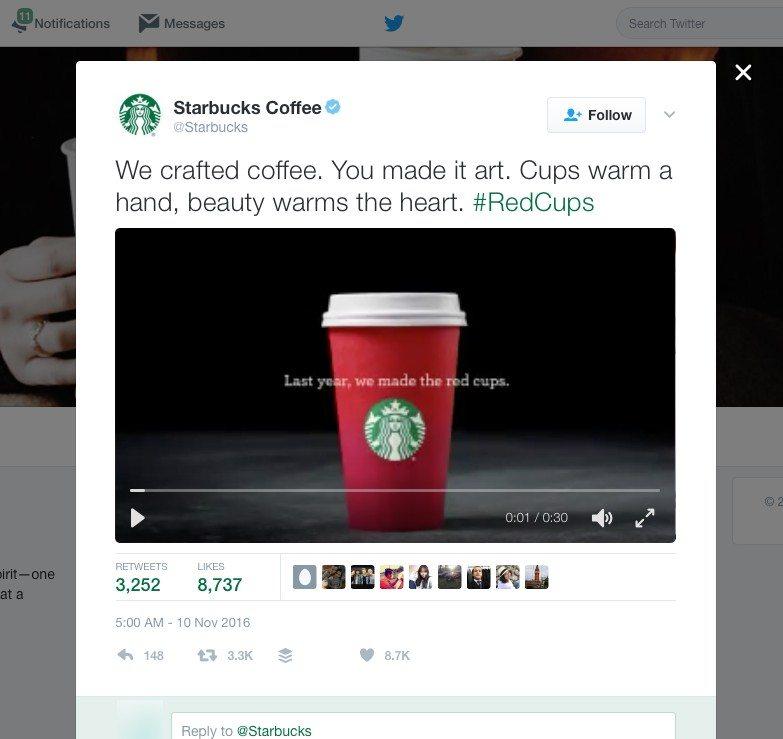 Starbucks online branding tips